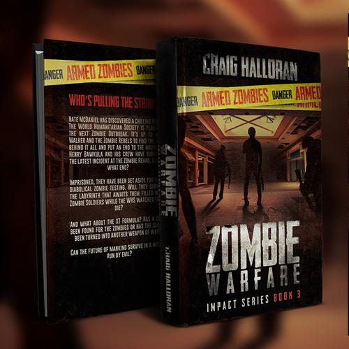 Zombie Warefare Book 3 Book Cover