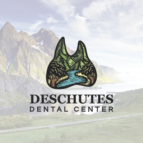 Illustrative logo for dental practice