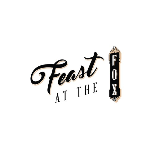Feast at the Fox - Logo for a Farm to Table Dining Experience