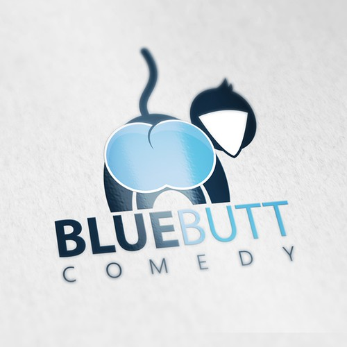 Blu Butt Comedy logo