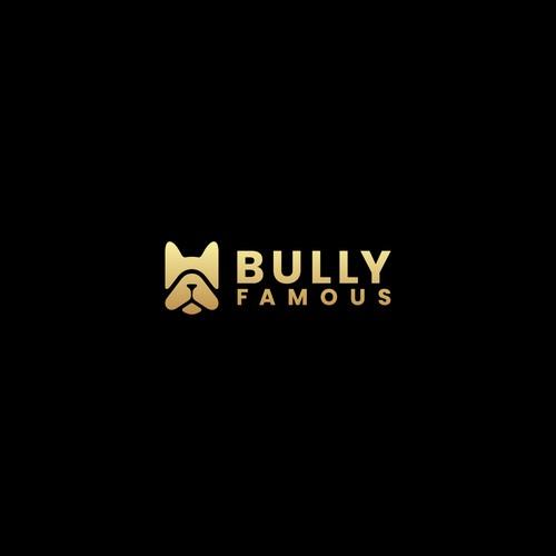 Bulldog Bold Simple Logo