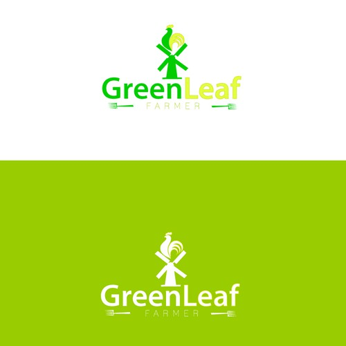 Logo Design For GreenLeaf