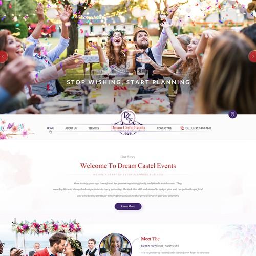 Event Planner Needs Creative Website