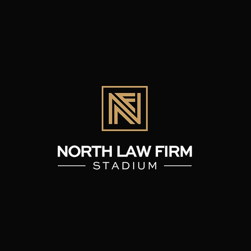 Logo concept for North Law Firm Stadium