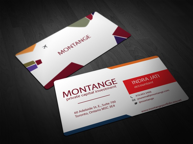 Help Montange with a new stationery