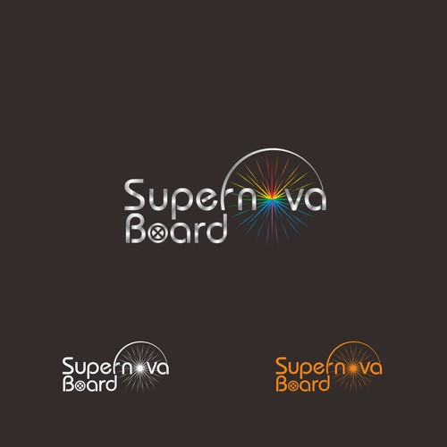 "logo for ""Supernova Hoverboard"""