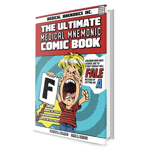 Book Cover of The Ultimate Medical Mnemonic Comic Book