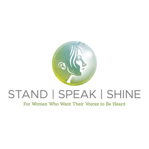 Leadership training course for women logo design
