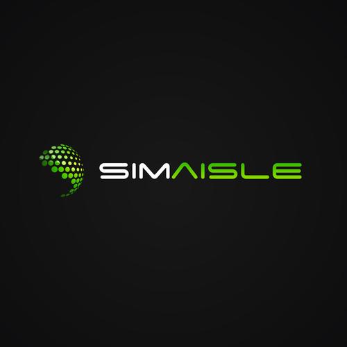 Sciefi logo tpye for SimAisle