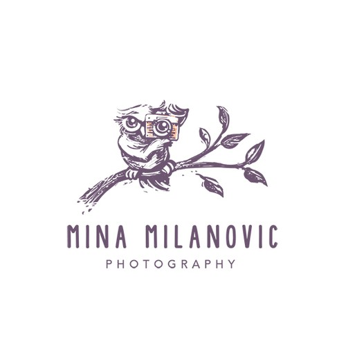 Logo for lifestyle photography business specialising in family photography, weddings and pet photography.