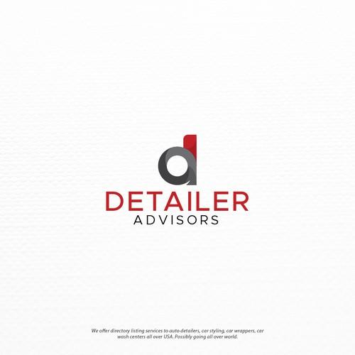 Modern Logo for DetailerAdvisors®