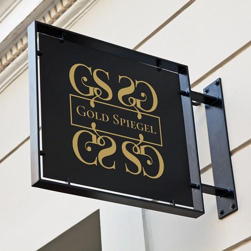 Logo concept for Gold Spiegel