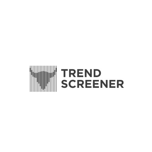 Geometric bold logo for Trend Screener