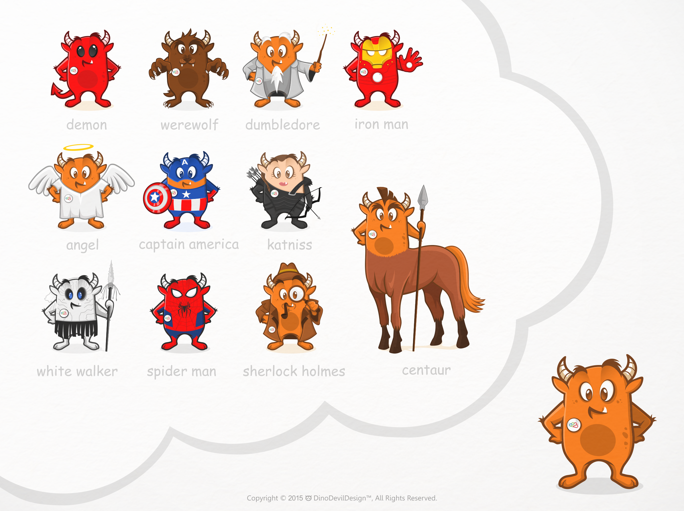 10 New Mascot Designs for Role.Place