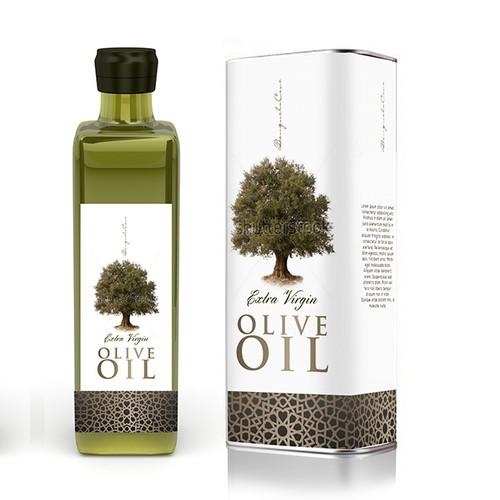 Premium Olive Oil Label