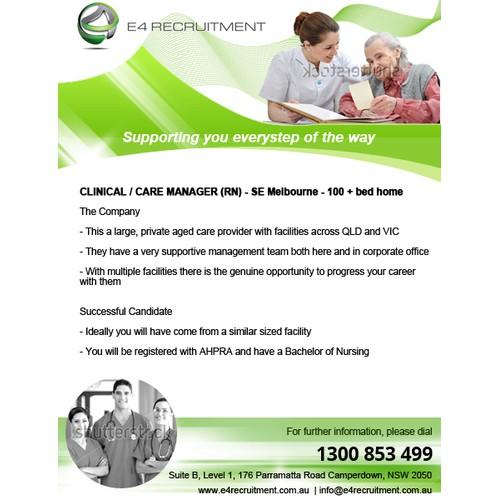 *** Recruitment Company - Job Advertising Board - Create ADVERT TEMPLATE