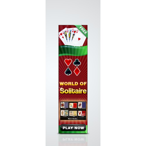 Help World of Solitaire with a new banner ad