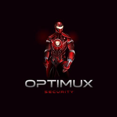 logo for optimux
