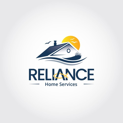 Reliance Home services Logo winner