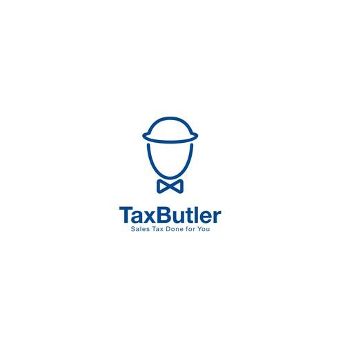 TaxButler logo concept