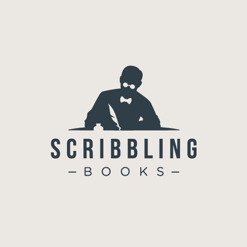 Logo design for Scribbling Books that tell a story
