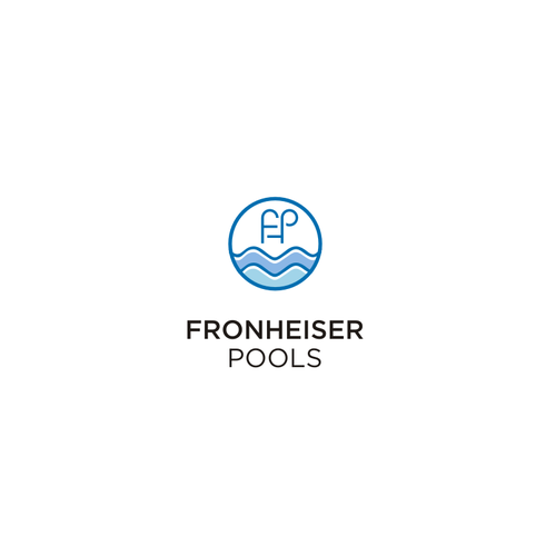logo for Fronheiser Pools
