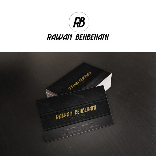 Create the next logo for rawan behbehani