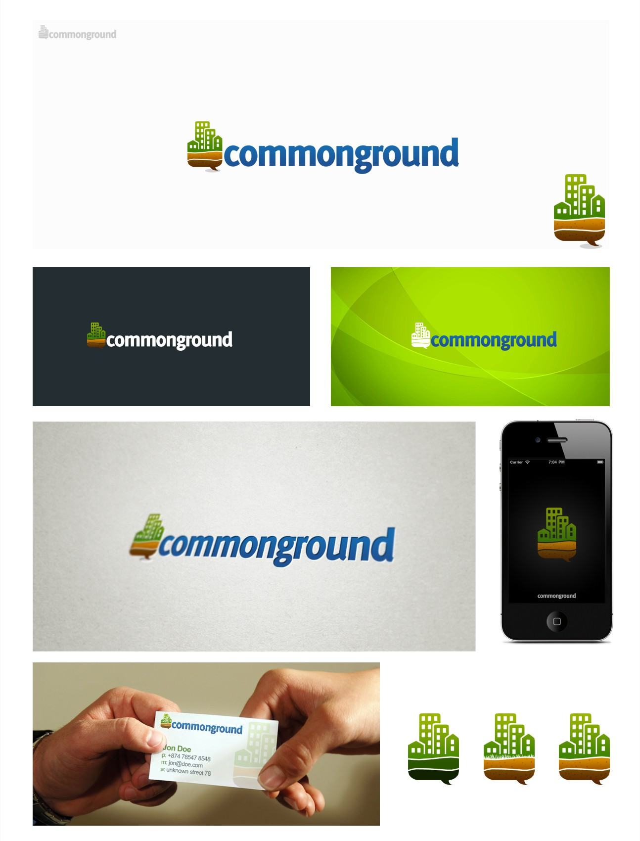 Help commonground with a new logo