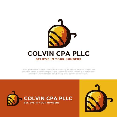 COLVIN CPA PLLC logo design