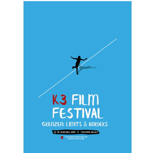 Poster: K3 film festival (2nd version)