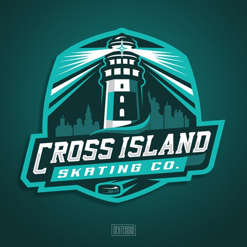 Logo for Cross Island Skating Co.