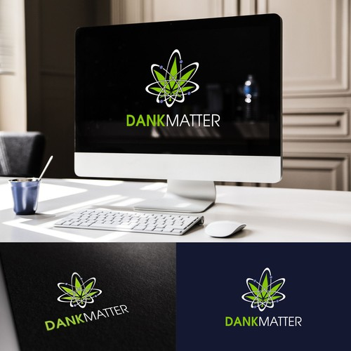 Contest Winning Logo Design for Dank Matter