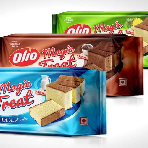 Olio Magic Treat Cake