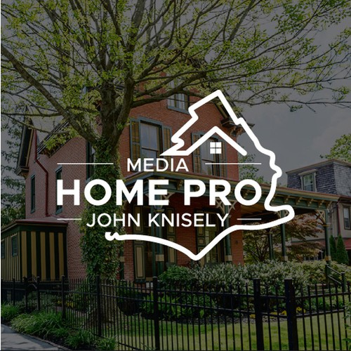 Modern and Literal Logo for Residential Real Estate Agent in the Philly Suburbs