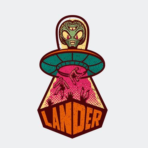 Lander needs a Mascot Logo WWW.LANDR.LA