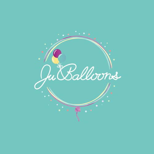 Logo for a balloon company