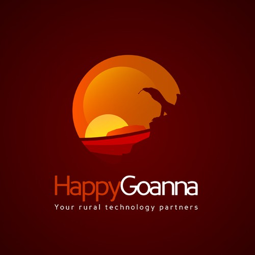 Happy Goanna needs a new logo