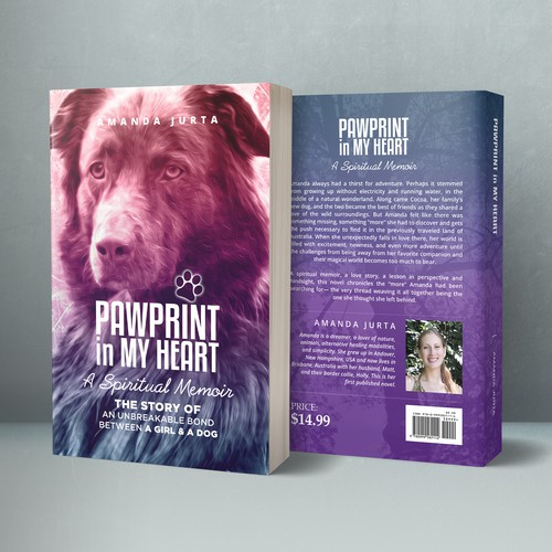 Cover Book PAWPRINT in MY HEART