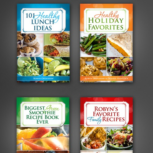 Recipe book covers