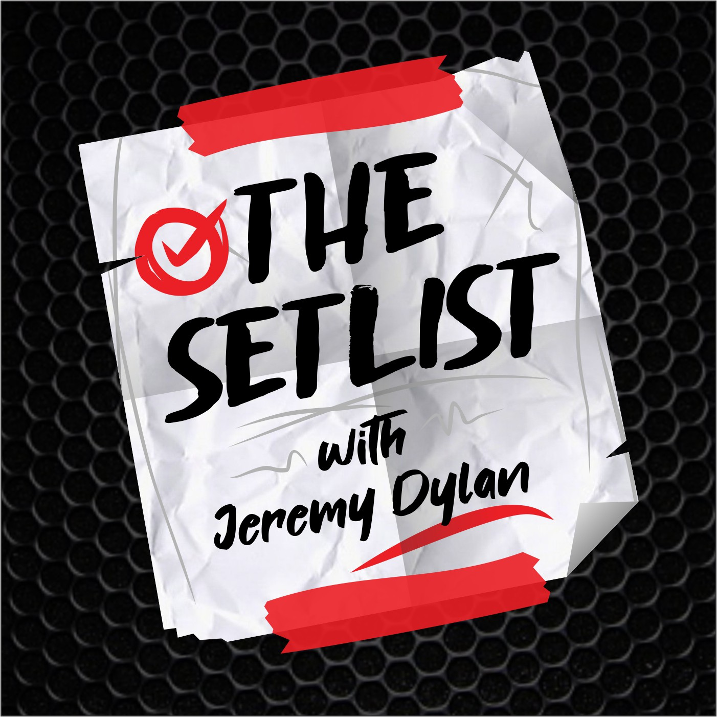Design a logo for new music podcast The Setlist