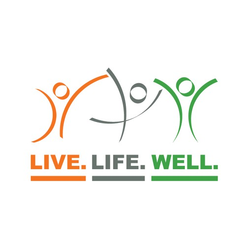 Create a wellness logo