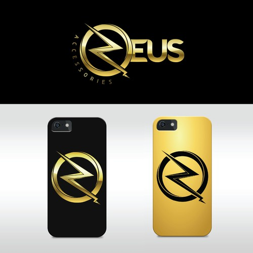 "Zeus Accessories Logo ""The God of All Cell Phone Fashion"""