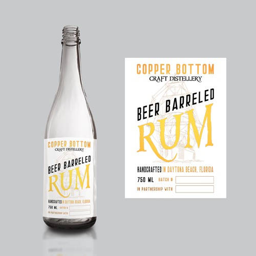 Rum & Beer collaboration label