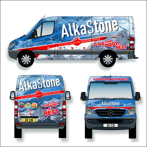 Alkastone Wrap design