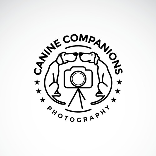 Logo for Canine Companions Photography