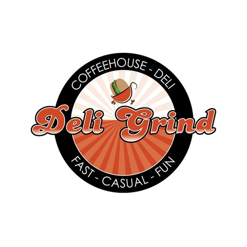 Fun Logo for a Coffee House - Deli