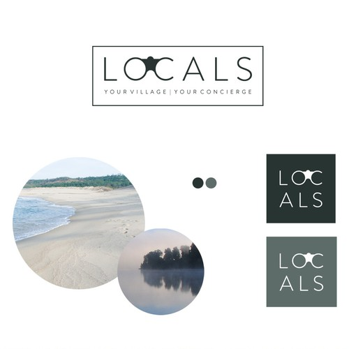Logo design for a travel blog