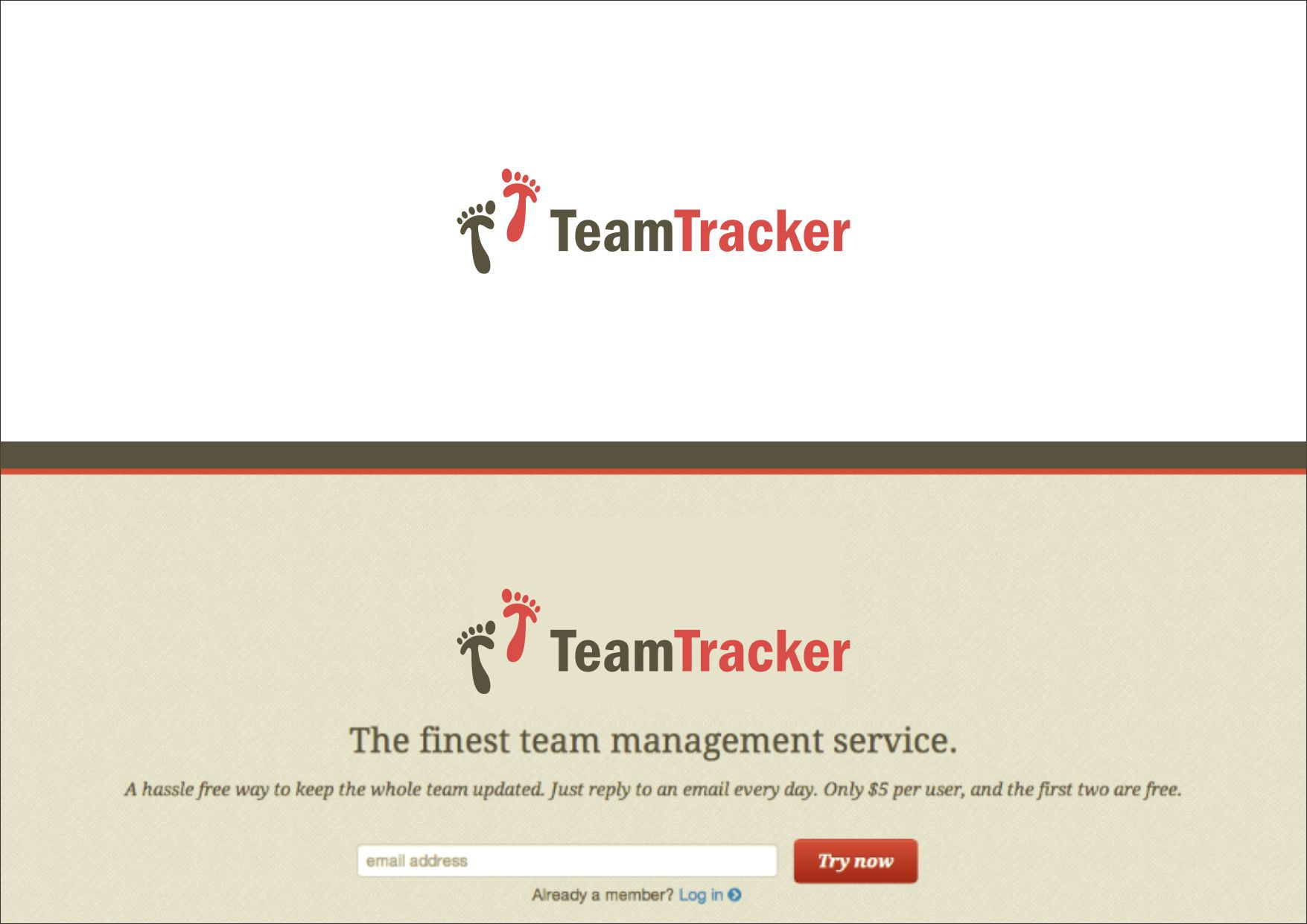 Team Tracker needs a new logo