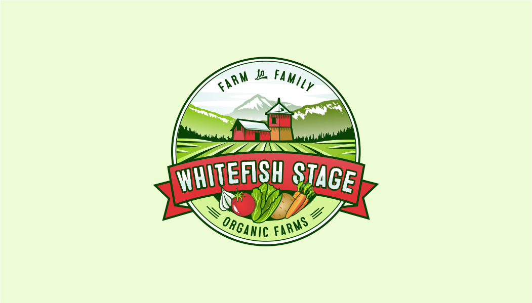New Organic Farm Logo & Website Design