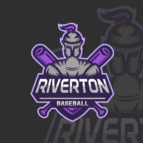 RIVERTON BASEBALL Logo Concept